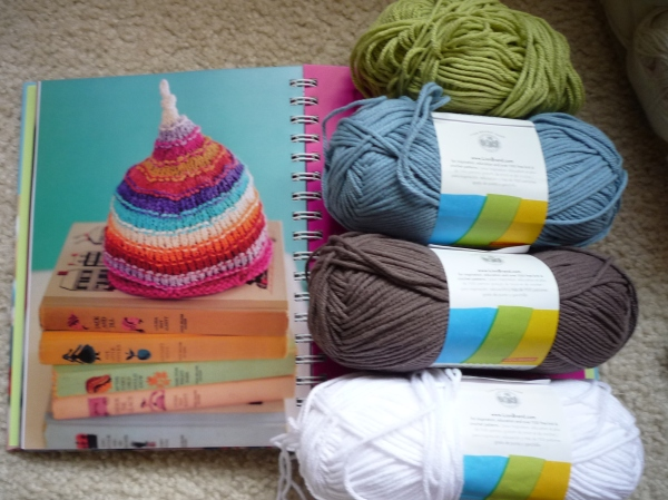 yarn for mindy's baby?